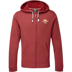 Sherpa Jaaro Sweat à capuche zippé Homme, potala red